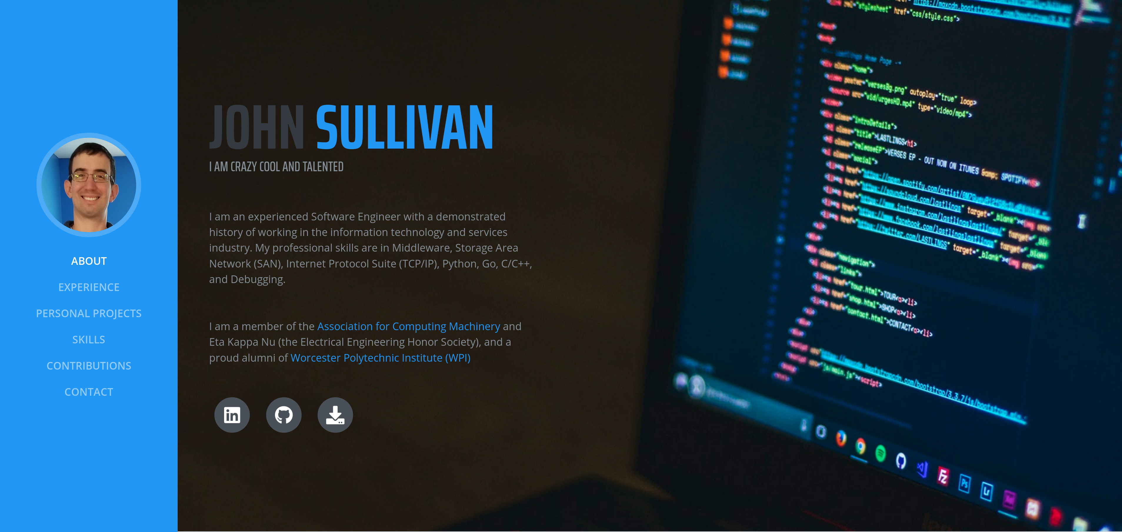 John Sullivan Software Developer